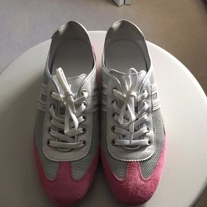 Hogan Silver & pink sneakers size 8